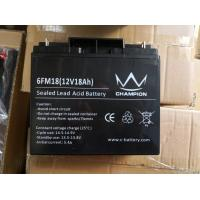 Quality Sealed Lead Acid Battery 12v 18ah Deep Cycle Battery For Solar UPS Inverter for sale
