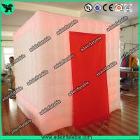 Quality 2.5*2.5*2.5 Lighting Inflatable Photo Booth/Wedding Decoration Inflatable for sale