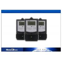 Quality Single Phase Watt Hour Meter , Single Phase Electric Meter 50Hz / 60Hz for sale