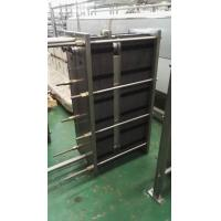 Quality 1000L / H Two-Section Type Plate Heat Exchanger Φ51 Material Diameter for sale