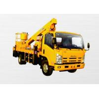 Quality Operating Radius 7.6m Boom Lift Truck XZJ5067JGK Horizontal Reaches Up To 18 Meters for sale