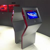 Quality Free Standing Interactive Touch Screen Kiosk Multi Touch Foil / Film Transparent for sale