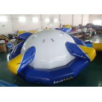 China 4 - 6 Person Water Inflatable Rotating Top Inflatable Water Gyro , Planet Saturn on sale