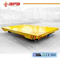 Quality Long Distance DC Motor Driven Towed Rail Transfer Cart With Emergency Stop for sale