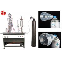 Quality Safe Oil Free Fresh Air / Oxygen Gas Filling Machine With Compressed Air Power for sale