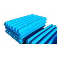 China Steel Casting Components Wear Resistant Castings Steel Crusher Jaw Plate Parts on sale