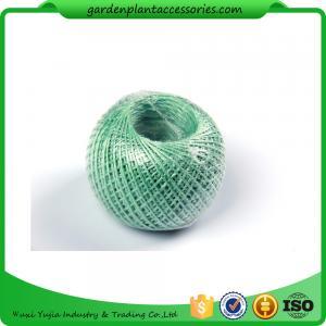 Quality 100M Length Twine Jute Garden Plant Ties , Blue Flexible Garden Tie for sale