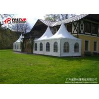 Quality Glass Door Festival Party Tent With Self Cleaning Ability Diameter 8M for sale