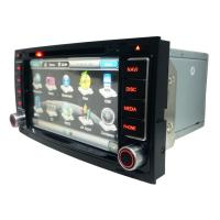 "Quality 6.5"" HD Digital LED Monitor 800 * 480 FM / AM Tuner OPS Dual Can - Bus Volkswagen DVD GPS ANS510 for sale"