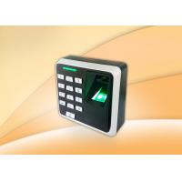 China Small Size Biometric Access Control Devices With Keypad / Rfid Card Reader on sale