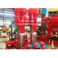 Quality Multistage Booster Fire Jockey Pump 75GPM For Firefighting , NFPA20 GB6245 Listed for sale