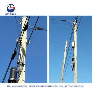 Quality Aerial Fiber 15mm 12KN J Hook ADSS Suspension Clamp for sale