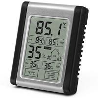 DTH-124 LCD Touch Screen Max MIN Digital Hygrometer Indoor Outdoor Thermometer Humidity Monitor for sale