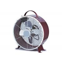 Quality 8 Inch Metal Mini Table Retro Electric Fan For Home Office Fashion for sale