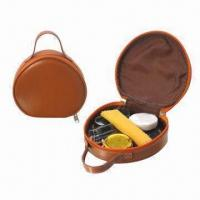 Quality Shoe shine kit, made of PU for sale