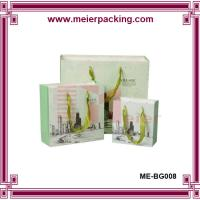 Quality Ribbon Handle Paper Shopping Bags/Medium Printed Paper Gift Bag/Shopping Paper Carrier Bag ME-BG008 for sale