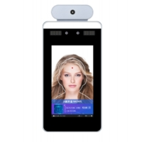 Quality Biometric Body Temperature Thermal Face Recognition Terminal for sale