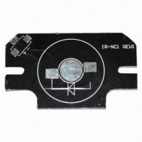 Quality Aluminum Base PCB for LED, with Good Heat Resistance and Thermal Conductivity for sale