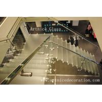laminated stairs glass, sandwich stairs glass with CE & ISO & AS/NZS2208:1996