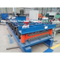 Quality CNC Sheet Roof Panel Roll Forming Machine With Hydraulic Cutting Touch Screen for sale