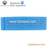 China Bluetooth 109 Keys Wireless Silicon PC/ Tablet/Laptop/ Smartphone Soft Keyboard Waterproof on sale