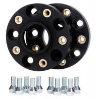 Quality Black Hubcentric Car Wheel Spacers 5x130 Pcd Adapters For Porsche Cayman for sale