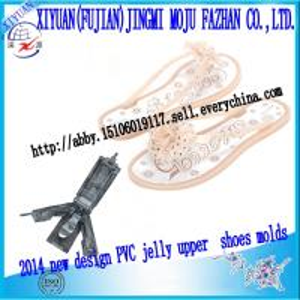 China 2014 new design PVC jelly girls flip flop molds on sale
