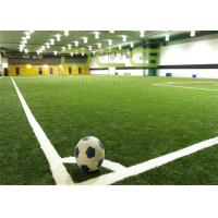 Buy Anti UV Artificial Turf Soccer Field / Synthetic Turf Field Olive Shape at wholesale prices