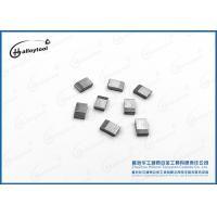 Quality 100% Raw Materials Hard Alloy Carbide Saw Tips Silver Gray For Wood Cutting for sale