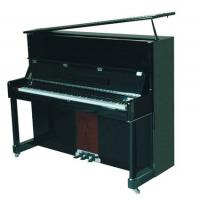 Quality Classic Solidwood 126cm Acoustic Upright Piano Black Polished AG-126C for sale