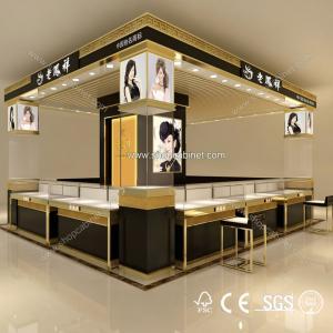 Quality Customized jewelry showcase /display showcase/glass showcase design for sale