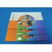 Quality Full Color Saddle Stitch Book Printing Service With Perfect Binding A6 for sale