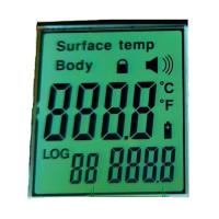 Buy cheap Custom Lcd Segment Display Digit Lcd Module For Non Contact Infrared Thermometer from wholesalers
