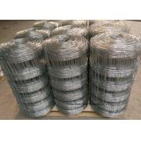 Quality Grassland Cattle Wire Fence For Ranch , Australia Style Hinge joint Knot for sale