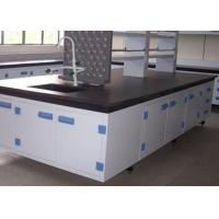 Quality Pollution Resistance School Lab Furniture / Table With Epoxy Resin Board for sale