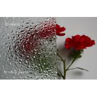 Quality 3mm to 8mm Diamond Patterned Glass, Rolled Glass, Figured Glass with Certificate ISO and BV for sale