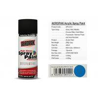 Quality 400 Ml Aerosol Spray Paint Light Sky Blue Color ForCleaning Grease / Wax / Rust for sale
