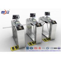 Buy TCP / IP Door Security Access Control Turnstiles RFID Automatic Tripod Turnstile Gate at wholesale prices