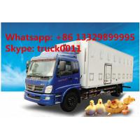 Quality CLW brand baby chick transported truck for sale, hot sale LHD/RHD CLW brand day old chick/duck/goose transported truck for sale