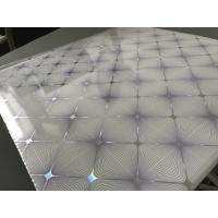 Buy Easy Install / Clean PVC Ceiling Boards 7mm Thickness Shining Purple Design at wholesale prices