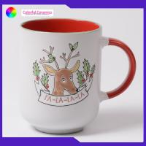 China Cute Animal Water Hand Painted Pottery Mugs Promotional Ceramic Mugs on sale