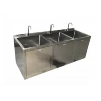 Quality OT Room Medical Stainless Steel Sinks With Big Bowl And Sensor Faucet for sale