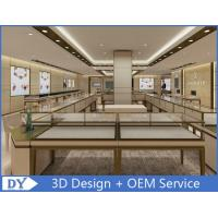 Quality OEM Modern Shop Showroom Jewellery Counter Display With Led for sale