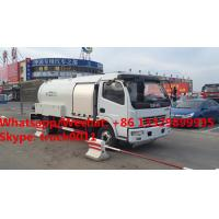 Quality customized new designed DONGFENG 120hp 5500L Bobtail Propane Filling LPG tank dispenser for sale. mobile lpg tank truck for sale