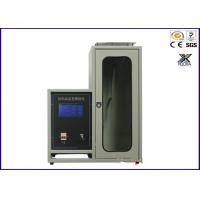 Buy cheap Automatic JIS 1091 Texitle 45 Degree Flammability Test Chamber from wholesalers