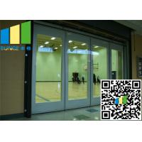 China Sliding Glass Wall Partition With Doors Malaysis Aluminum Track on sale