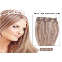 "Buy cheap Mixed Colors 10"" 24"" Clip In human Hair Extensions , Grade 7A Single Drawn Human from wholesalers"