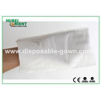 Buy cheap White Hospital Disposable Products Disposable Wiping Cloth Free Size , CE from wholesalers