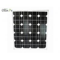 Quality Anti - Reflective Industrial Solar Panels Excellent Performance In Low Light Conditions for sale