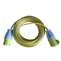 Quality Power cables with CEE 16A/32A industrial plug and socket for sale